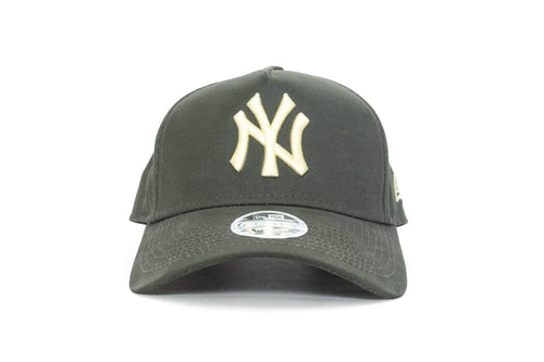 olive new era womens 940 aframe new york yankees new era cap