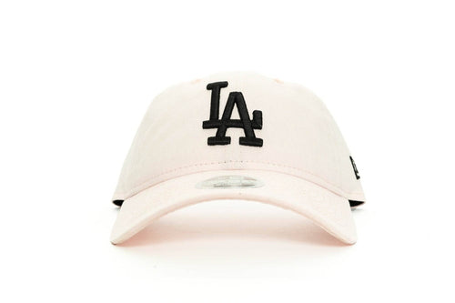 light pink new era womens los angeles dodgers canvas new era cap