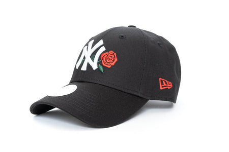 black/rose new era womens 940 new york yankees new era cap