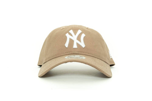 tan new era womens new york yankees canvas new era cap