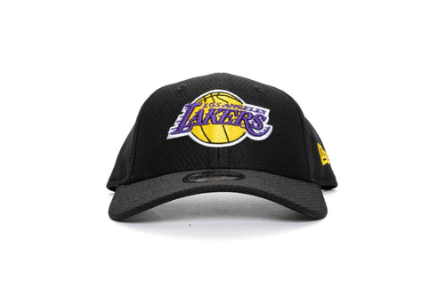 BLACL/PURPLE/GOLD new era youth 940 snapback los angeles lakers new era cap