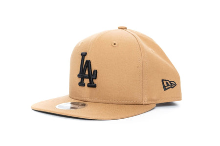 wheat/black new era youth 950 onfield los angeles dodgers new era cap