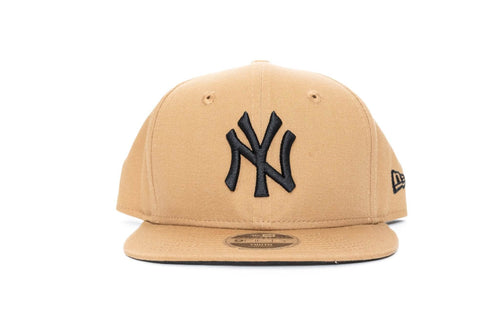 wheat/black new era youth 950 onfield new york yankees new era cap