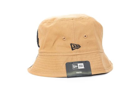 wheat/black new era youth los angeles dodgers bucket cap new era cap