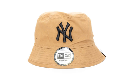 wheat/black new era youth new york yankees bucket cap new era cap