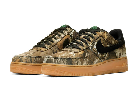 black/black-aloe verde-gum med brown / US 8 nike air force 1 '07 LV8 3 nike Shoe