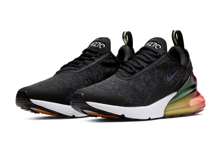 black / black-laser orange / ember glow / US 8 nike air max 270 se nike Shoe