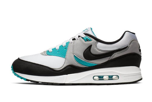 WHITE/BLACK-WOLF GREY-SPIRIT TEAL / US 8 nike air max light nike Shoe