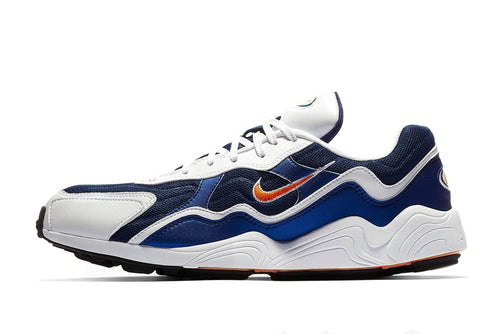 navy/white/black/carotene / US 9 nike air zoom alpha nike sboe