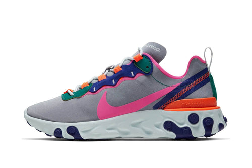 Wolf Grey/Laser Fuchsia-Hyper Crimson / US 6 nike womens react element 55 nike Shoe