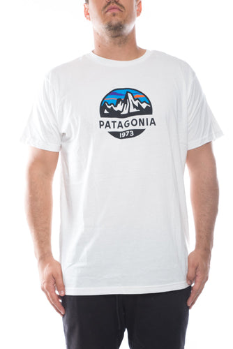 white / M patagonia fitz roy scope organic t-shirt patagonia 190696515183 Shirt