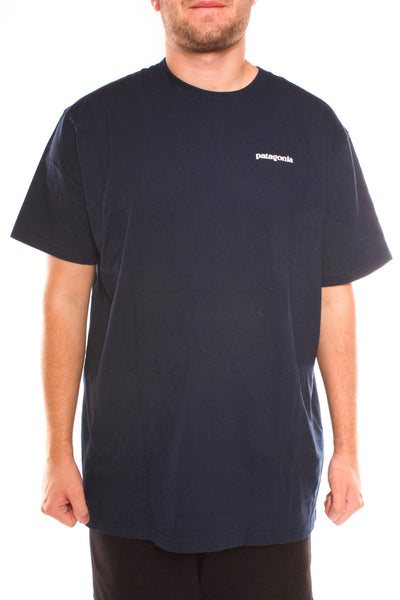 patagonia p6 logo cotton shirt