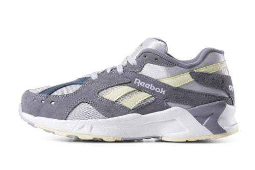 grey/white/blue hills / US 8 reebok aztrek reebok Shoe
