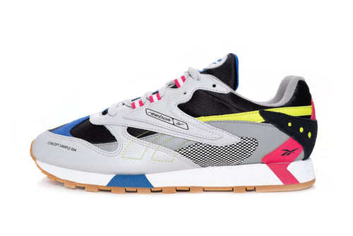 skull grey/black/pink / US 8 reebok cl leather ati 90s reebok Shoe