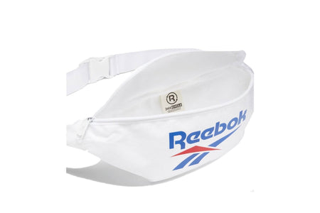 WHITE/WHITE reebok classics foundation waistbag reebok bag