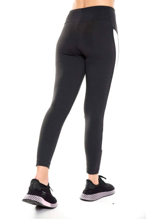 black / S reebok color block legging reebok 4060513472592 legging