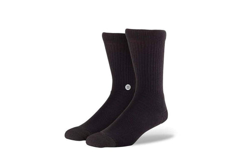 Black / M stance icon athletic socks stance 847142092247 sock