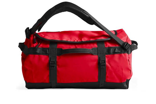 red/black the north face base camp duffle bag the north face bag
