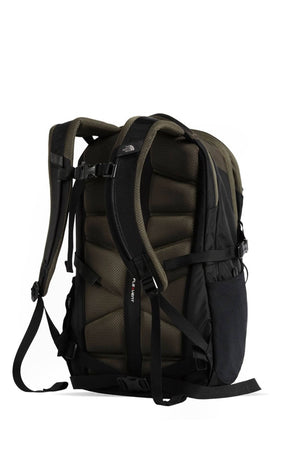 Taupe green/black the north face borealis backpack the north face bag