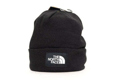 BLACK the north face dock worker recycled beanie the north face beanie