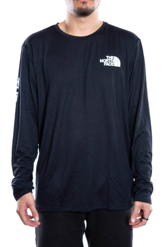 the north face long sleeve reaxion graphic tee the north face Shirt