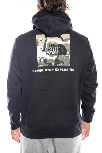 black/beige camo / M the north face red box hoodie the north face hoody