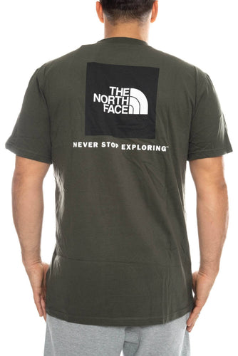 the north face red box tee the north face Shirt