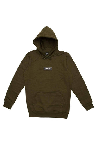 olive / S trainers v2 box logo hoody trainers hoody