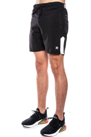 black/white / S trainers tech stretch runner short trainers Short