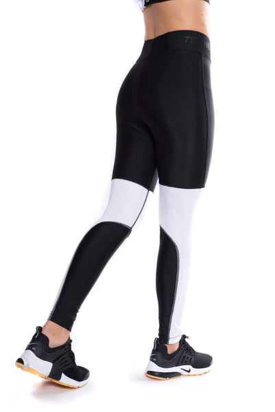 trainers high waisted tech tights