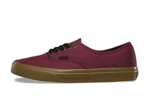 vans authentic gum sole
