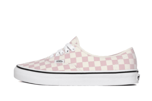 chalk pink / classic white / US 6.5 vans womens authentic checkerboard vans 191166765275 Shoe