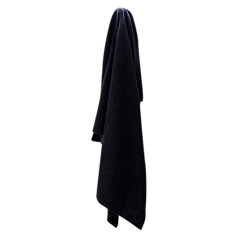 Charcoal Lightweight Super Soft Blanket - Lou & Olly Limited