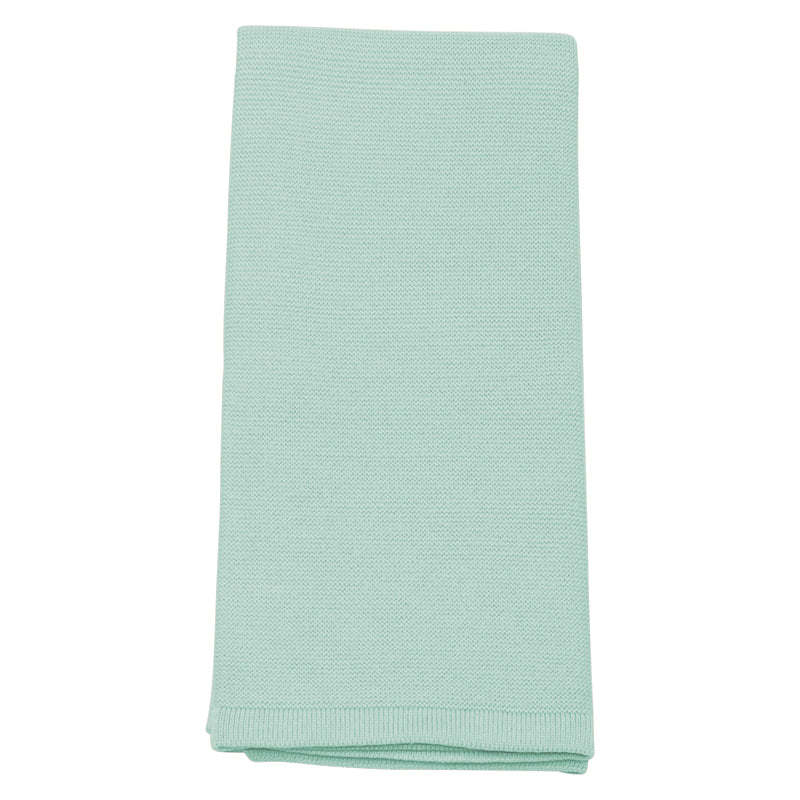 Mint Contemporary Cot Blanket - Lou and Olly