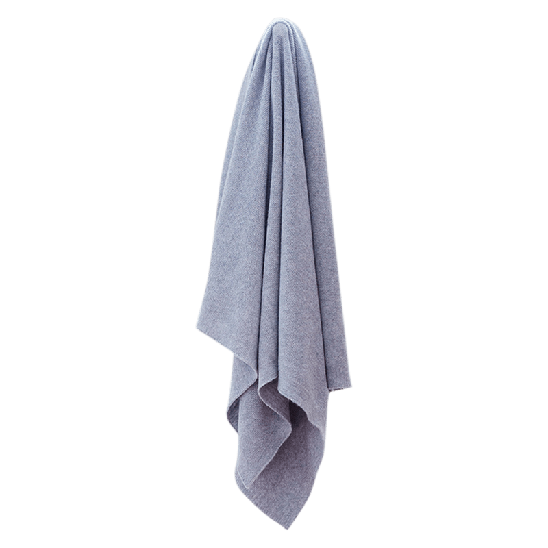Grey Lightweight Super Soft Blanket - Lou and Olly