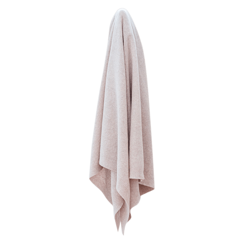 Sand Lightweight Super Soft Blanket - Lou and Olly