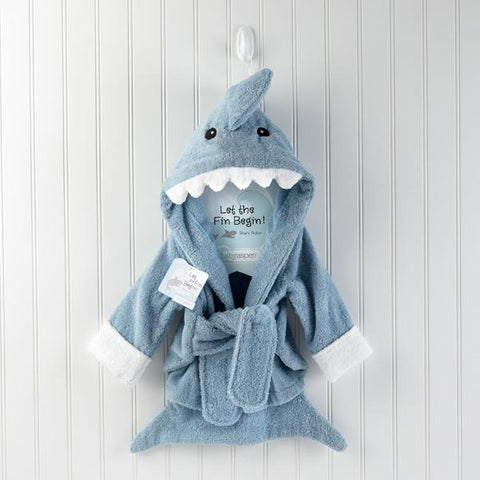 Shark Hooded Robe