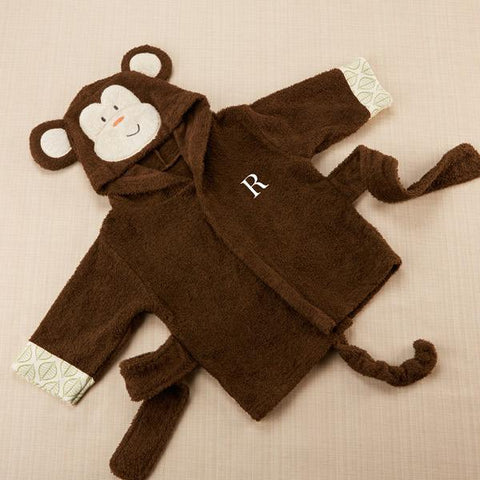 Monkey Hooded Robe
