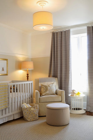 Yellow Nursery Room Color