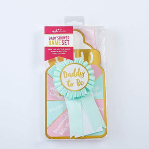 Baby Shower Belly Sash & Game Set