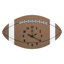 Load image into Gallery viewer, Football Wall Clock