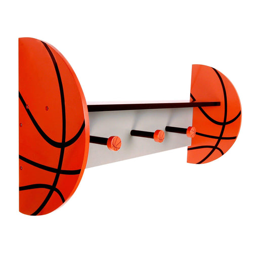 Basketball Shelf With Pegs