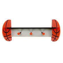 Load image into Gallery viewer, Basketball Shelf With Pegs