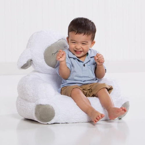Lamb Plush Character Chair