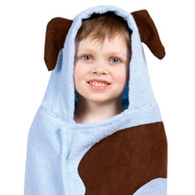 Load image into Gallery viewer, Puppy or Monkey Hooded Towel (Personalization Available)