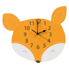 Load image into Gallery viewer, Fox Wall Clock