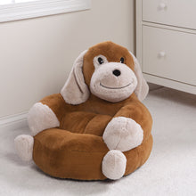 Load image into Gallery viewer, Puppy Plush Character Chair