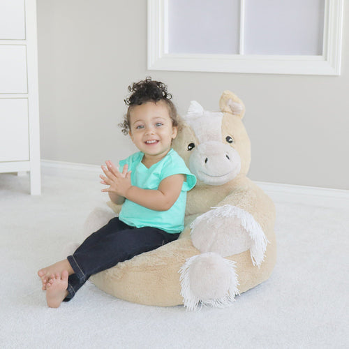 Pony Plush Character Chair