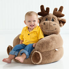 Load image into Gallery viewer, Moose Plush Character Chair