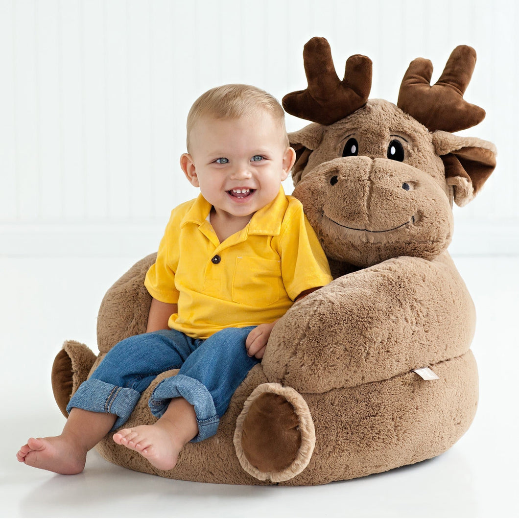 Moose Plush Character Chair